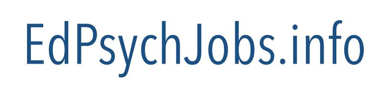 Educational Psychology Jobs